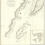 Vancouver's map of Cook Inlet, 1798